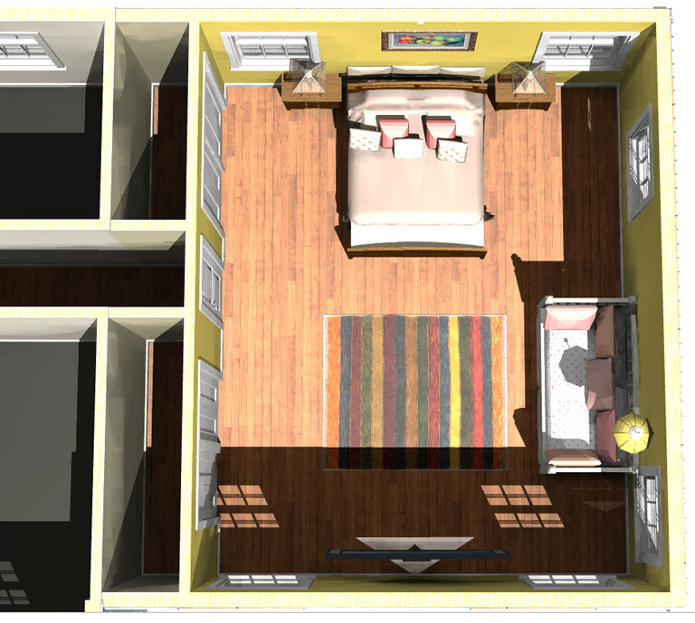 Master bedroom above garage additions home desain 2018 for Room above garage plans