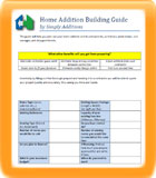 Complete 14 Page Home Addition Guide