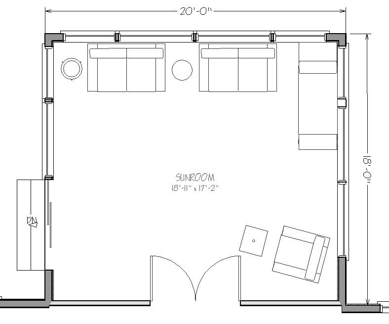 16 x 24 home plans joy studio design gallery best design for Room addition blueprints