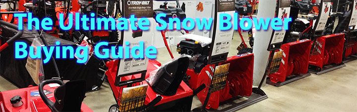 best snow blower buyers guide